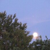 Moon, and Jupiter?
