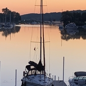 Dawn at Picton Harbour