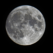 August Full Moon (almost - night before) August 2