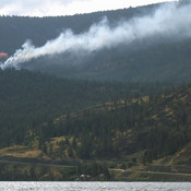 Fire in West Kelowna