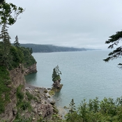 The Fundy coast