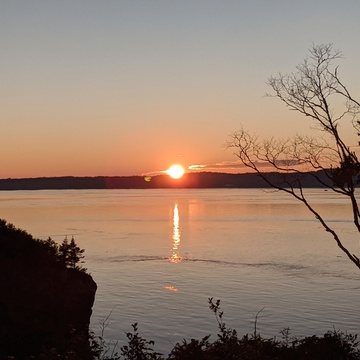 Sunset on Campobello