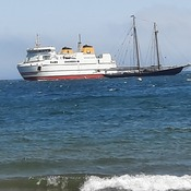 Bluenose 2 and the Grand Manan Island Ferry