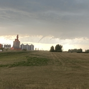 Funnel Cloud near Estevan, Sk.