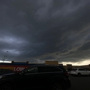 Tornado Watch at Walmart Heartland Parking Lot