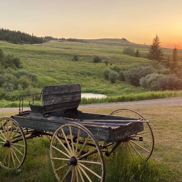 Resers Historic Ranch, Cypress Hills, Sask
