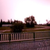 Lightning Flash Lit Up The Deck