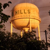 two hills water tower