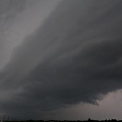 shelf cloud in Kingston