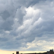 Clouds over Brockville