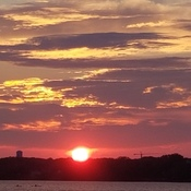 Dorval sunset