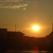 sunset at twillingate