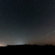 The Perseid Meteor Shower from Calgary, Alberta, Canada