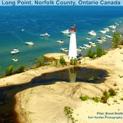 Long Point Lighthouse Ontario Canada