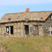 old homestead on the prairie