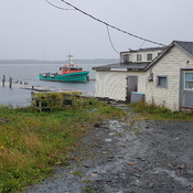 Very high tides in Three Fathom Harbour, NS