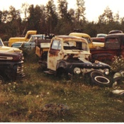 Old vehicals rusting into history