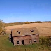 An old homestead near St.Micheal Alberta .