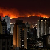 Massive Fires in Argentina