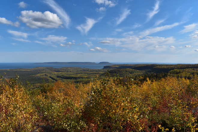Pie Island From Mt. McKay Thunder Bay, ON
