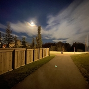 Moonbow Over Sherwood Park - 2