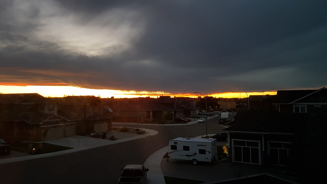 Sunset in Lethbridge Lethbridge, AB