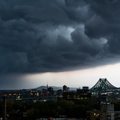 Orage a Montreal