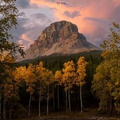 Crowsnest Mountain- Autumn