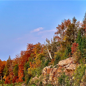 The colours of Algonquin Park