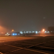 fog at Kipling Station