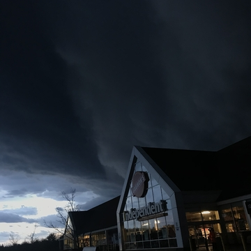 Tornado warnings in Bracebridge, Ontario