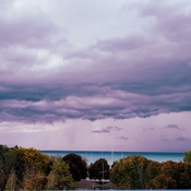 overlooking Lake Huron