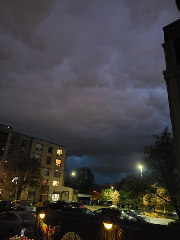 Eerie storm clouds over Orillia Orillia, ON