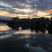 Olympic Village sunrise