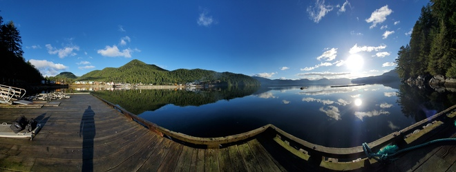 beautiful morning Hartley Bay, BC