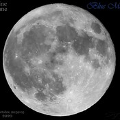Blue Moon du 31 Oct 2020