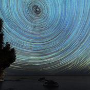 Time lapse of the stars