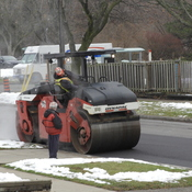 Road Repairs on Gully Drive in Scarborough