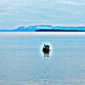 Sight on the big lake they call Superior