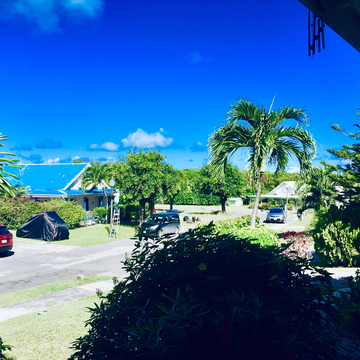 Sparkling weather Antigua
