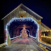 St. Martins Christmas Covered Bridge
