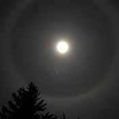 Beautiful Halo Moon