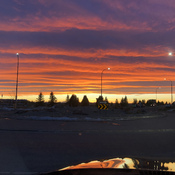 Sunset west Lethbridge