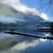 Kawkawa Lake boating docks