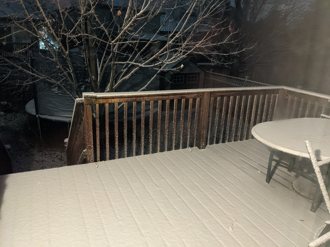 Backyard Deck Chatham, ON