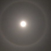 Lunar Halo over Peterborough