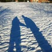 Love in the winter under the sun
