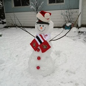 Snowman from Stittsville On