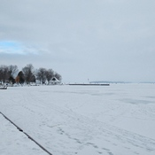 Ice Huts on Lake Couchiching Saturday January 16th 2021