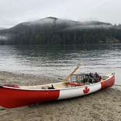 Canoeing and crabbing all day Belcarra BC